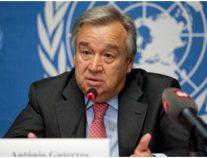الأمين العام للأمم المتحدة يطالب بإطلاق سراح سجناءفي كشمير المحتلة تحسبا لكورونا