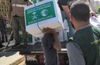 ((الملك سلمان للإغاثة))يواصل توزيع المساعدات لمتضررى السيول فى عدن