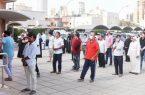 شباب سعوديين يساهمون في حل أزمة التباعد الاجتماعي