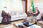 نائب أمير الشرقية يلتقي أمين عام جمعية البر بالمنطقة