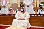 سمو نائب أمير جازان يؤدي صلاة عيد الأضحى المبارك بجامع خادم الحرمين الشريفين
