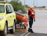 الدفاع المدني :  يباشر عدداً من الحالات الناتجة عن الحالة المطرية