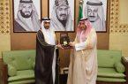 وكيل إمارة الرياض يستقبل الرئيس التنفيذي للمجلس النقدي الخليجي