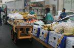 أمانة جدة تصادر (17) كيلو من الخضروات والفواكه بنطاق التاريخية والعزيزية