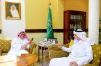 وكيل إمارة الرياض يستقبل مدير فرع النقل بالمنطقة