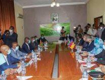 وزير الداخلية الموريتاني يعقد جلسة عمل مع نظيره الاسباني ومفوضة الاتحاد الأوروبي للشؤون الداخلية