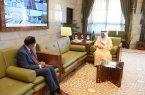 أمير منطقة الرياض يستقبل سفير جمهورية بنغلاديش لدى المملكة