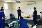 هيئة الهلال الأحمر بمنطقة مكة تُنفذ برنامج دعم الحياة القلبي المتقدم لمنسوبيها