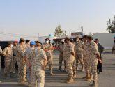 رئيس هيئة الأركان الأردني يتفقد موقع الإنفجار في منطقة الطافح