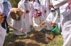 تدشين حملة «لنجعلها خضراء» لزراعة 3000 شتلة