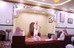 """مدير إدارة مساجد محافظة صامطة يفتتح مسجد """"المهجري"""""""