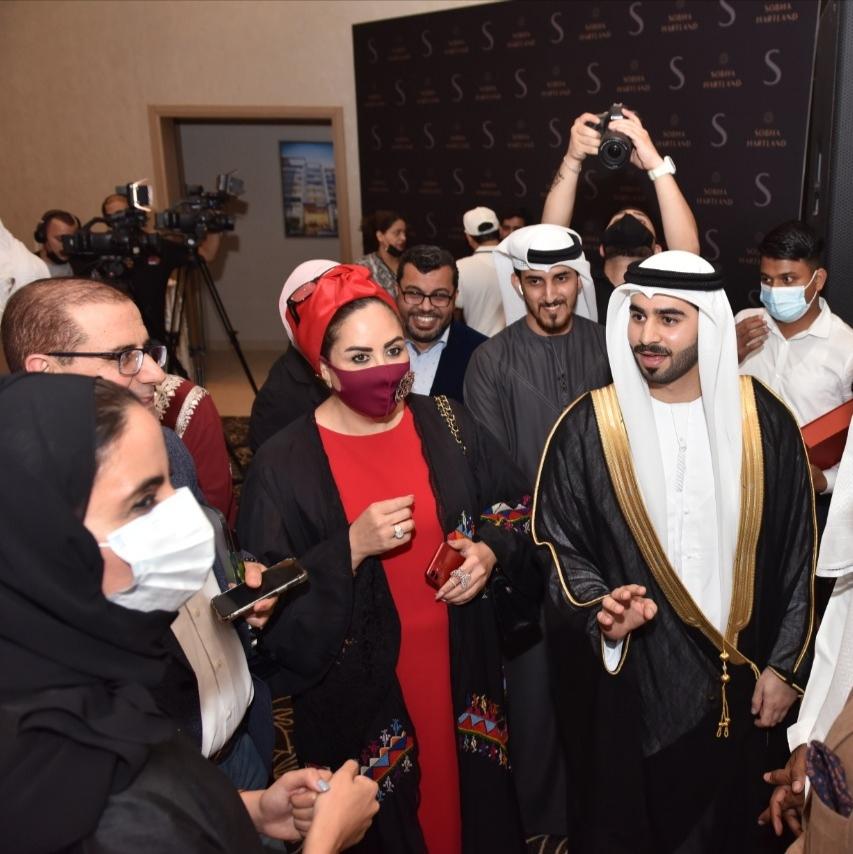 الشيخ حميد القاسمي يرعى احتفالية العرس الخليجي الثاني