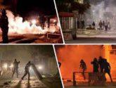 تظاهرات فى مدينتى باجة والمعقولة فى تونس وكر وفر بين الأمن والمحتجين