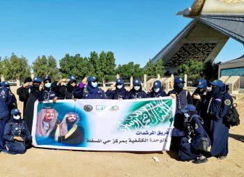فرع وزارة الزراعة بمكة تنسق لتشجير بوابة مكة