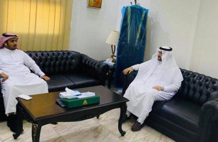 بحث سير عمل مشاريع جمعية الأمير محمد بن ناصر للاسكان الخيري مع فرع الاسكان بالمنطقة