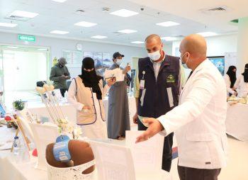 مجمع الملك عبدالله الطبي بجدة يُقيم فعالية تعريفية عن خدمات الرعاية الصحية المنزلية
