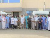الاستشاري الزائر بجمعية الإحسان الطبية يعالج 489 مريض بإصلاحية جازان