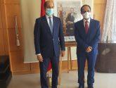 السفير الاصبحي يلتقي مدير الوكالة المغربية للتعاون الدولي بالرباط