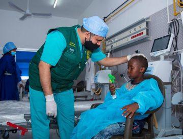 مركز الملك سلمان للإغاثة يجري 84 عملية جراحية لأطفال جيبوتي