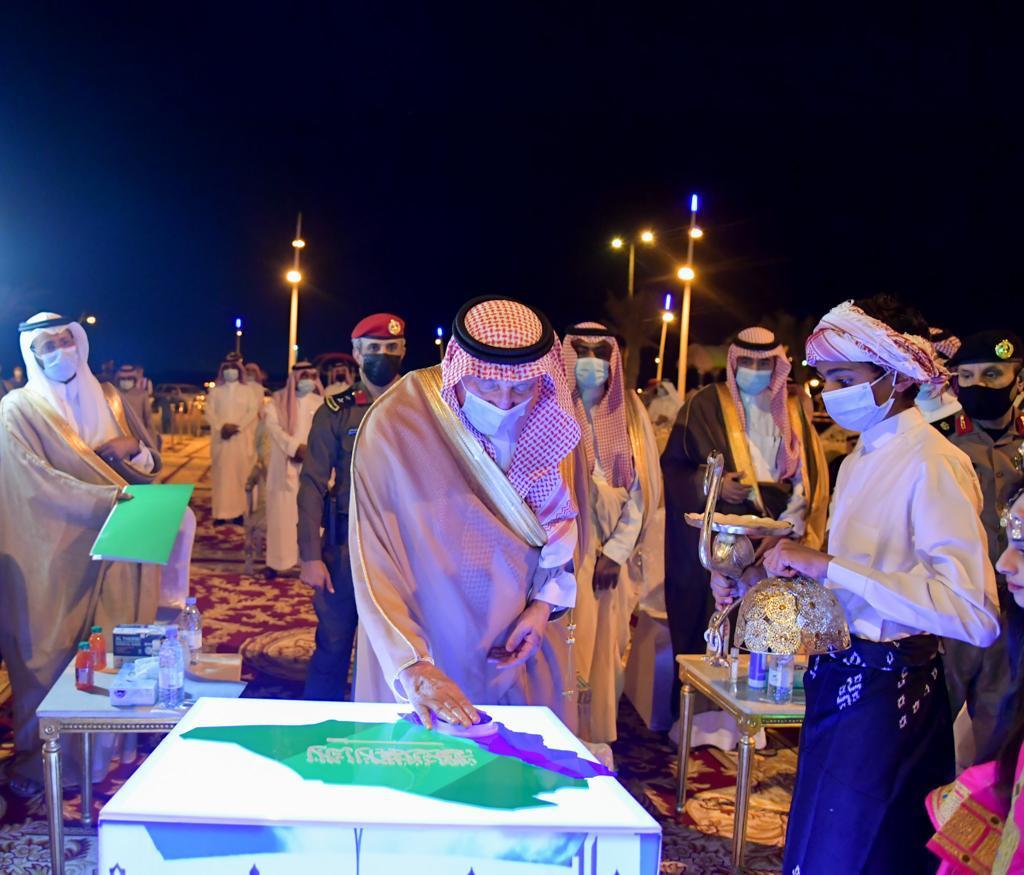 أمير منطقة جازان يشرّف حفل أهالي محافظة فرسان