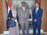 الأصبحي :  يستقبل القائم بالأعمال السوداني في الرباط