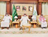 سمو أمير منطقة جازان يستقبل المحافظين ومديري الجهات الأمنية