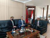 الاصبحي يستقبل سفير بولندا لدى المغرب