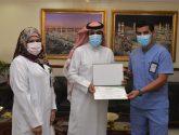 مدير صحة جدة يُكرم رؤوساء التمريض بالمستشفيات و إدارتي الإحصاء و المشاريع